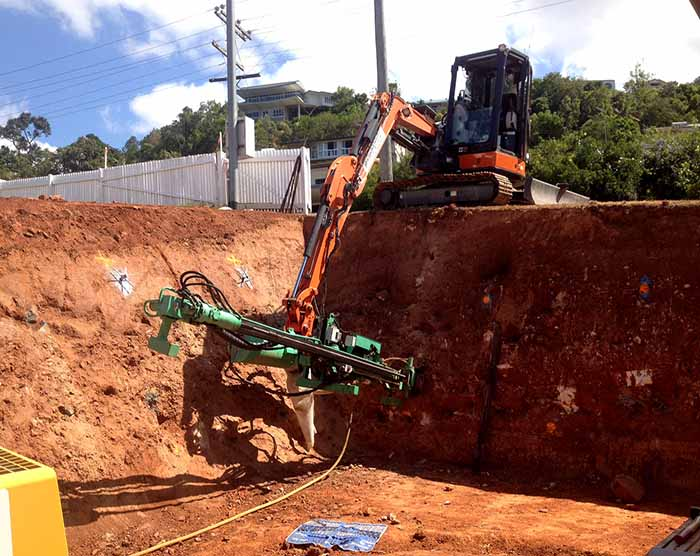 Rock Soil Anchoring System : Services self drilling anchor