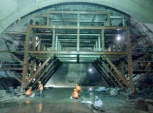railway tunnel construction